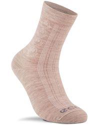 Ecco Casual Short-crew Socks - Natural