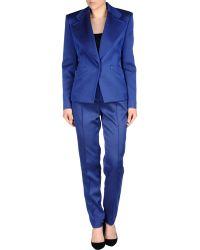 Balenciaga Women's Suit - Blue