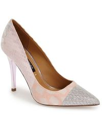 Kay Unger 'Ainsly' Pointy Toe Pump - Multicolour