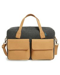 M.R.K.T. - 'frank' Water Resistant Briefcase - Lyst
