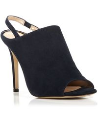 Diane von Furstenberg Open Toe Slingback Sandals - Violet High Heel - Lyst