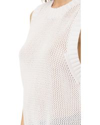 FRAME Le Muscle Sweater - Blanc - White