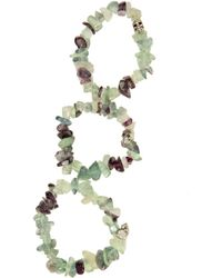 Duchess Of Malfi Fluorite Large Stone Skull Bracelet multicolor - Lyst