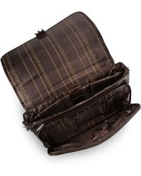 Kenneth Cole Reaction Leather Laptop Briefcase - Lyst