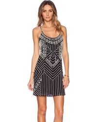Parker Hayden Embellished Dress - Lyst