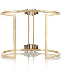J.Crew | Gold-Plated Cubic Zirconia Cuff | Lyst