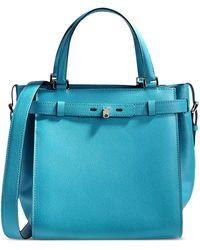 Valextra Medium Leather Bag - Lyst