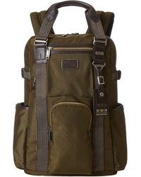 Tumi Alpha Bravo Lejeune Backpack Tote - Lyst