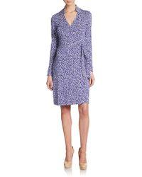 Diane von Furstenberg New Jeanne Jersey Wrap Dress - Lyst