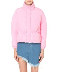 UNIF - Certa Quilted Shell Jacket - For Women - Lyst