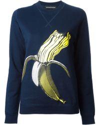 Ostwald Helgason   Banana Print Sweatshirt   Lyst