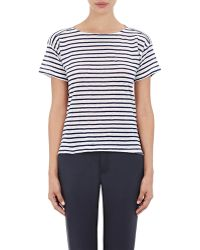 Band of Outsiders - Bateau-neck T-shirt - Lyst