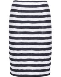 Diane von Furstenberg Walda Cotton Skirt - Lyst