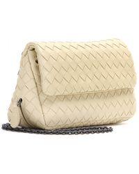 Bottega Veneta Intrecciato Leather Shoulder Bag - Lyst