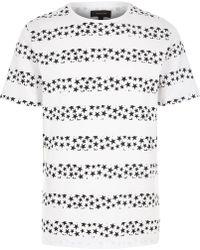 River Island  Stars and Stripes Print T-Shirt - Lyst