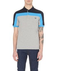 Fred Perry Block-Coloured Polo Shirt - For Men - Lyst