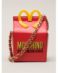 Moschino Over 20 Billion Served Tote - Lyst
