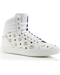 MCM Carryover High Top Trainers - White