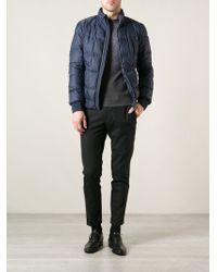 Fendi Blue Padded Jacket - Lyst