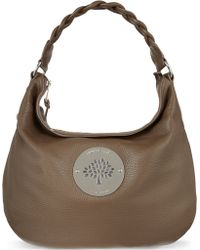 Mulberry Daria Pebbled Leather Hobo Bag - Lyst