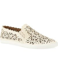 Aerin - Murex Leather Slipon Sneaker - Lyst