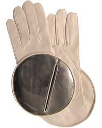 Thomasine Gloves - Madrid Glove Circular Mirror Wrist Cream - Lyst