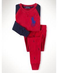 Ralph Lauren Pony Cotton Sleepwear Set - Lyst