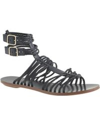 J.Crew Braided Gladiator Sandals blue - Lyst
