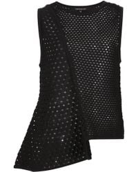 Timo Weiland   Open Knit Asymmetric Top   Lyst