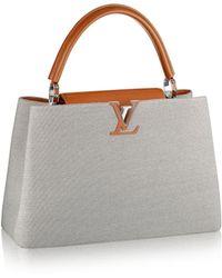 Louis Vuitton Capucines Mm Mateo - Lyst