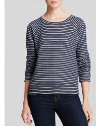 Elizabeth And James Sweatshirt Striped Perfect - Lyst