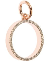 Monica Vinader - Rose Gold-Plated Diva Circle Pendant - Lyst