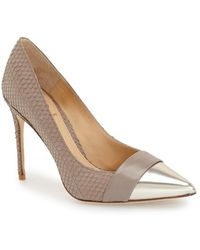 Vc Signature - 'ville' Pointy Toe Pump - Lyst