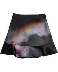 Cynthia Rowley Moonbow Ruffle Skirt - Lyst