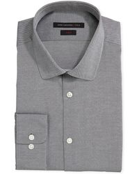 John Varvatos Longsleeve Textured Solid Shirt - Lyst