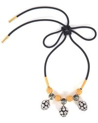 Marni - Necklace With Strass - Lyst