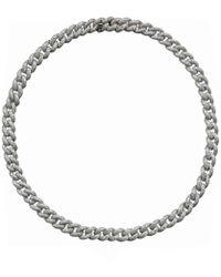 SHAY - Essential Pavé Diamond Link Necklace - Lyst