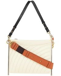 Chloé - Quilted Roy Bag In Natural White - Lyst