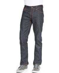 Nudie Jeans Thin Finn Dry Twill Jeans - Lyst