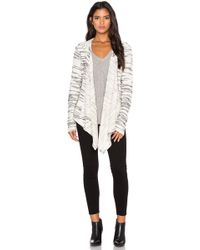 Bella Luxx Fly Away Hooded Cotton-Blend Jacket - White
