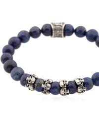 Cantini Mc Firenze - Skulls Beaded Bracelet - Lyst