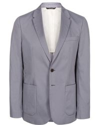 Paul Smith Light Grey Buggy Lined Two-Button Blazer - Lyst