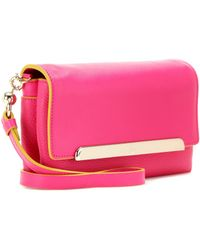 Christian Louboutin - Rougissime Small Leather Clutch - Lyst