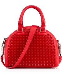 Christian Louboutin Red Panettone Small - Lyst