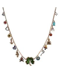 Katherine Wallach - Good Luck Buddha Necklace - Lyst