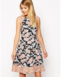 Oasis Rose 50s Dress - Lyst