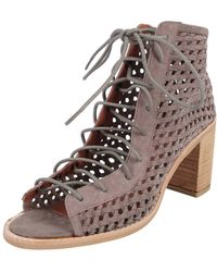 Jeffrey Campbell Cors Weave gray - Lyst