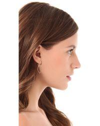 Jamie Wolf - Beaded Open Pear Earrings With Diamonds - Lyst