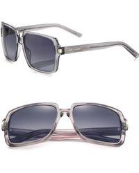 Saint Laurent Oversized 57Mm Square Sunglasses - Lyst