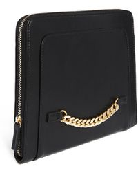 Asos Clutch Bag with Chain Detail - Lyst